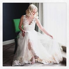 Sitting pretty. X The beautiful @poorlittleitgirl is glowing in this Marchesa Notte gown for @bhldn. We have teamed up with them to offer one lucky bride-to-be a BHLDN x Marchesa gown, a trip for 2 to New York City, and a private bridal styling appointment with our own @georginachapmanmarchesa and @kerencraigmarchesa. To be considered, we ask you to re-post this photo, tag @poorlittleitgirl & @bhldn, and use the hashtag #BHLDNlovesMarchesa along with your wedding date in your caption. Good…