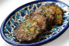 Serious Eater Michael Natkin of the vegetarian blog Herbivoracious drops by every Wednesday to share a delicious recipe to expand our vegetarian repertoire. [Photograph: Michael Natkin] Keftes de prasa are de rigeur at most holiday celebrations on the Sephardic side...