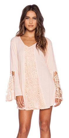 Vagabond dress by Tiare Hawaii. 100% cotton. Hand wash cold. Crochet lace panels. TIAR-WD116. VAGABOND. Consisting of handmade cl...