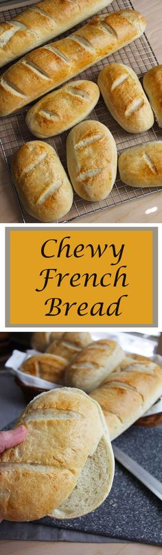 French Bread is the ultimate bread for any occasion. Perfect for sandwiches, dipping in soups, or just eating with any meal. Perfection!