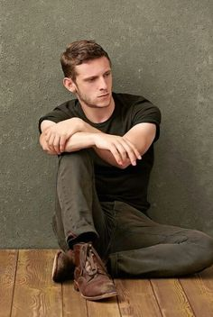 Jamie Bell.  He's not the typical type of gorgeous man.  But there's just something about him....