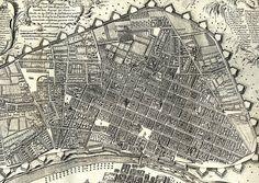 Plano de la Ciudad de los Reyes del Peru en 1744 (Detalle Principal) - AHG - Walls of Lima - Wikipedia, the free encyclopedia