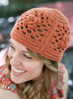 Crocheted Echelon Hat in Berroco Vintage. Discover more Patterns by Berroco at LoveKnitting. We stock patterns, yarn, needles and books from all of your favorite brands.