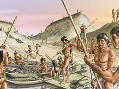 They were warriors. Calusa Indians