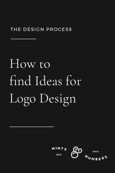 How to brainstorm and find good ideas for Logo Design Brand Identity Design Logo Design Process Graphic Design Logo And Identity, Logo Branding, Business Branding, Brand Identity Design, Corporate Branding, Brand Design, Business Tips, Graphisches Design, Graphic Design Tips