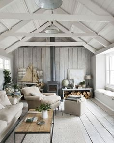 with Scandinavian interior - artist, author of more than 20 books and . - with Scandinavian interior – artist, author of more than 20 books and …, - Ideas Cabaña, Decor Ideas, Room Ideas, Scandinavian Cottage, Scandinavian Style, Scandinavian Chairs, Scandi Home, Scandinavian Interiors, Scandi Style