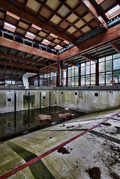 the deep end by rustyjaw, via Flickr Grossinger's Resort, The Catskills, New York
