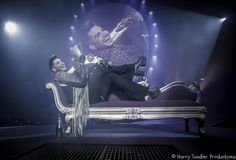 Adam Lambert and Queen played Bell Centre in Montreal last night - rockin show...