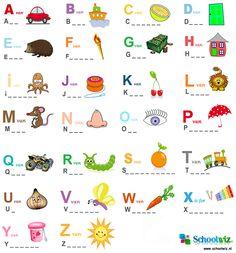 Woordjes maken 2. #puzzels #woorden #alfabet #kinderpuzzel #Schoolwiz