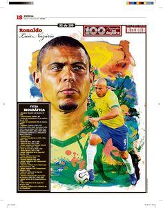 100 Leyendas del Deporte / 100 Sports Legends on Behance / Football