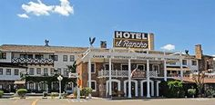 El Rancho Hotel, Gallup, New Mexico.  Many movie stars stayed here on Historic Route 66 while filming westerns.  The best Mexican food served here!