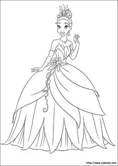 Print Princess And The Frog Coloring Pages Gallery