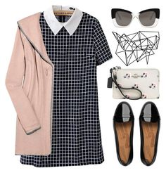 """art museum - tag"" by futurology ❤ liked on Polyvore featuring Cutler and Gross, FitFlop, Coach and Lounge Lover"