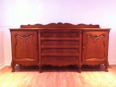 Buffet antique ca 1900 buffets vaisseliers ville de for Kijiji granby meuble
