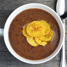 My Vegetarian Cuban Black Bean Soup is a delicious spin on traditional Cuban black beans. This soup is tangy and bursting with incredible flavor. High in protein and fiber while being completely fat free, it is a guiltless vegetarian meal or starter. It is also perfect for serving over white rice.