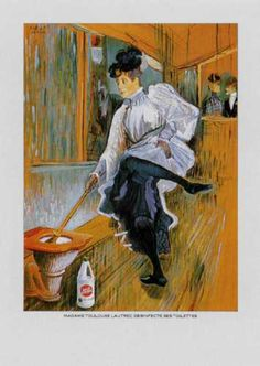 Read more: https://www.luerzersarchive.com/en/magazine/print-detail/12617.html Madame Toulouse Lautrec disinfects her toilet. Tags: Philippe Vanseghboeck,Cato Johnson, Paris,Hervé de Vaublanc,Darigo,Lermite,La Croix