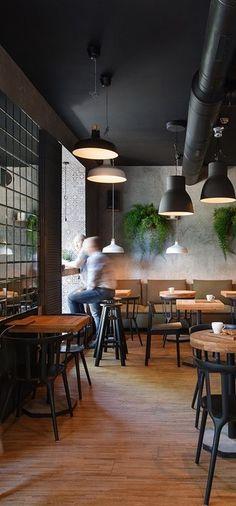 I feel espresso bar, Kiev, Ukraina - design Azovskiy & Pahomova architects