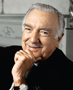 """Walter Cronkite - An excellent journalist - His voice and news delivery were authoritative and comforting and he never editorialized - he just reported the facts. I miss his steady leadership in the current cacophony of opinionated talking media heads. """"And that's the way it is."""""""