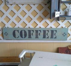 Check out this item in my Etsy shop https://www.etsy.com/listing/512736570/coffee-sign-handmade-sign-farmhouse-sign