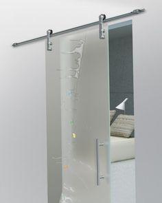bathroom doors sliding