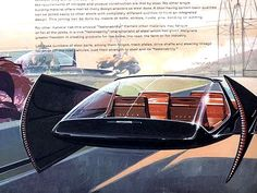 Anti-Gravity Car from US Steel by Syd Mead