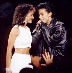 ●■One of the greatest pairs ever,,the way they look at each other says it all• Awesome Energy between the soul mates ■●Sheila E & Prince ■●
