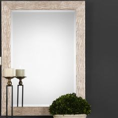 Give your décor a pop of glitz with the Magnolia Grove Aimelin Rectangle Mirror - x . The bright gold engineered wood frame gives. Decor, Floor Mirror, Beveled Glass, Rectangle Mirror, Wall, Rectangle, Beveled Mirror, Accent Mirrors, Mirror Wall