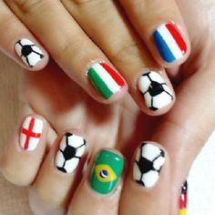 #prom World-Cup-2014-Nail-Art-13