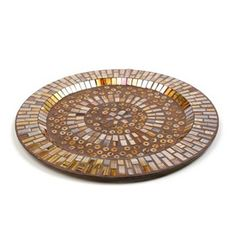 Copper Mosaic Charger
