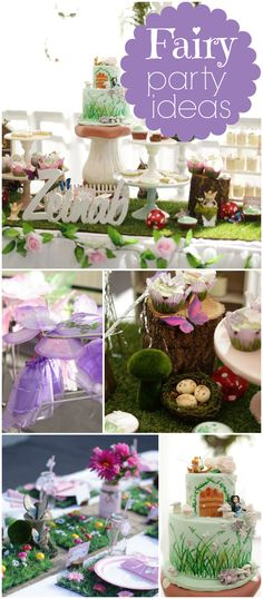 Love this fairy party with pixie dust necklaces! See more party ideas at CatchMyParty.com!