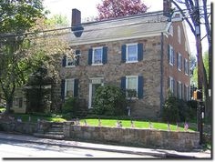 The Phillip Weise House, 1 East Mill Road, was constructed in 1744