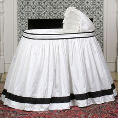 Want to Make this bassinet bedding