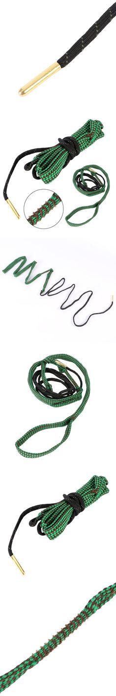 1 Pcs Green Rope 22 Cal 5.56mm 223 Caliber Gun Rifle Cleaning Cord Kit Hunting Gun Accessories