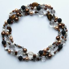 Golnar Jewelry - NECKLACE LAYERED PEARLS FOR WOMEN, $199.00 (http://www.golnarjewelry.com/necklace-elahe/)