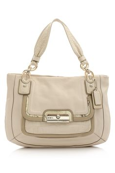 Coach Spectator East West Zip Tote