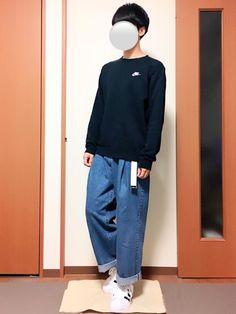 いつも見ていただきありがとうございます(^^) NIKEのスウェットとワイドデニムパンツのゆるコーデ Normcore, How To Wear, Style, Fashion, Swag, Moda, Fashion Styles, Fashion Illustrations, Outfits