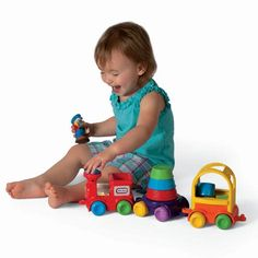 DiscoverSounds® Sort & Stack Train for $24.99 #littletikes