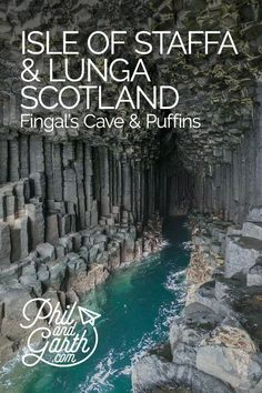 Travel guide for spending a day on Scotland's famous Isle of Staffa to see Fingal's Cave and photographing Puffins close up on the Isle of Lunga.