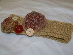 Buttons and Circles Headband by LiliAndLaine on Etsy, $15.00