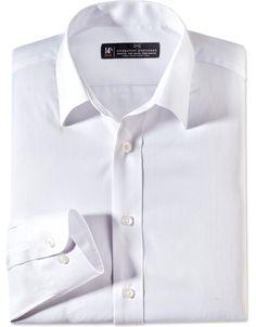 738c3262f3b The Classic White Herringbone Slim Fit Shirt Nice Shirts