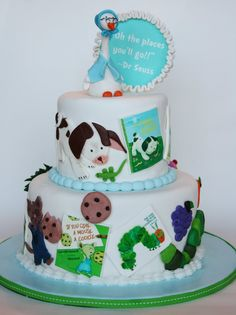 One of THE most awesome cakes I've ever seen!  Children's Storybook cake