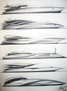 Building your own boat can be cheaper than buying a manufactured boat. A boat that you have made yourself can b Yacht Design, Boat Design, Design Art, Boat Sketch, Yatch Boat, Boat Drawing, Build Your Own Boat, Yacht Interior, Industrial Design Sketch