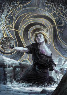 """Les Ombres d'Esteren (Yvan """"Gawain"""" Villeneuve, Agate Editions) - Affiche pour Dearg - épisode 1, Arc narratif du remords"""