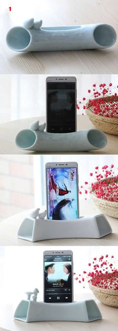 Brid iPhone Speaker SmartPhone Speaker Sound Amplifier Stand Dock