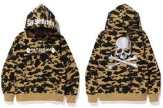 A BATHING APE × mastermind JAPAN CAMO PULLOVER HOODIE
