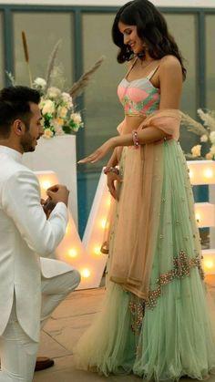 Indian Wedding Photography Poses, Indian Wedding Photos, Indian Bridal Outfits, Indian Fashion Dresses, Dress Indian Style, Indian Designer Outfits, Girl Photography Poses, Photo Poses For Couples, Couple Photoshoot Poses