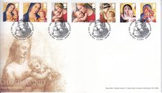 First Day Cover issued on November 2013 featuring the Christmas 2013 stamp issue. Subject for Christmas 2013 is the Madonna and Child. First Day Covers, Madonna And Child, The 5th Of November, One Day, Commonwealth, Stamp, My Favorite Things, Christmas, Collection