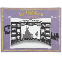 Moulin Roty Shadow Puppet Theatre