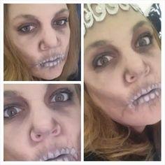 Maquillage fait avec les produits Younique #younique #produitnaturel #maquillage #squellette  www.mascara3dwow.ca