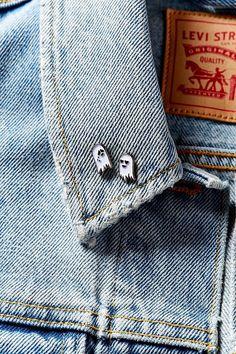 Sara M. Lyons Mini Ghost Pin Set